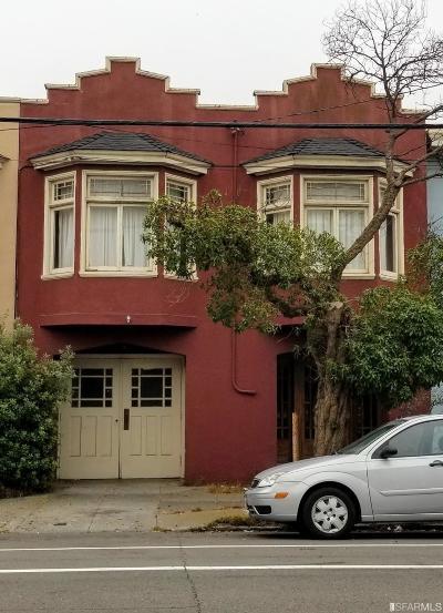 San Francisco Single Family Home For Sale: 4229 Cabrillo St