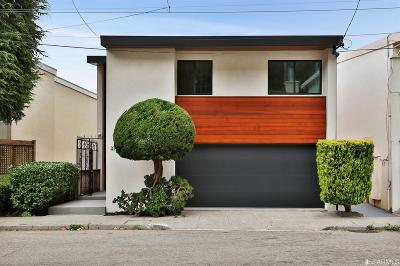 San Francisco Single Family Home For Sale: 276 Dalewood Way