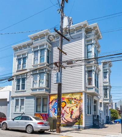 San Francisco Multi Family Home For Sale: 880 Shotwell St