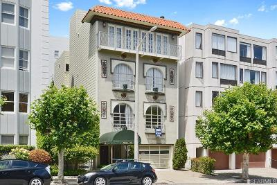 San Francisco Multi Family Home For Sale: 1836 1840 Broadway