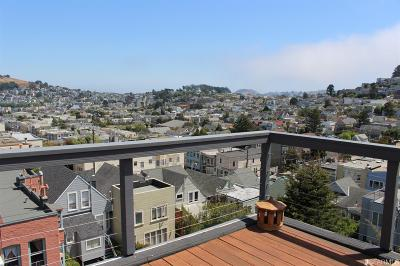 San Francisco Single Family Home For Sale: 425 Valley St