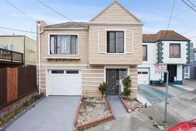 San Francisco Single Family Home For Sale: 205 Summit St