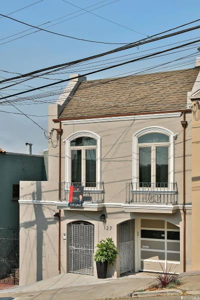 San Francisco Single Family Home For Sale: 127 Baden St
