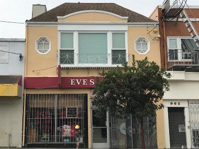 San Francisco Multi Family Home For Sale: 966 Geneva Ave
