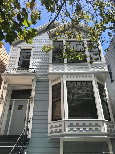 San Francisco Single Family Home For Sale: 1208 Stanyan St