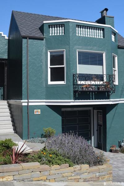San Francisco Single Family Home For Sale: 618 47th Ave