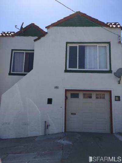 San Francisco Single Family Home For Sale: 351 Head St