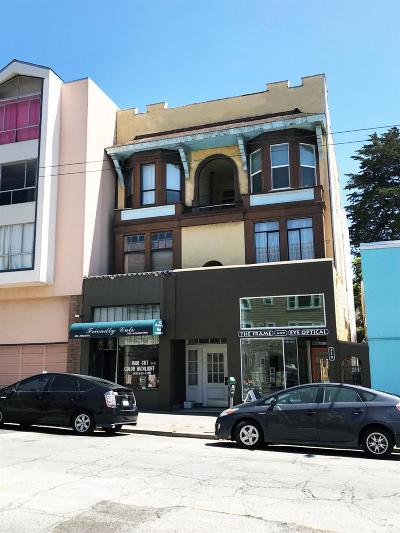 San Francisco Multi Family Home For Sale: 309 Judah St