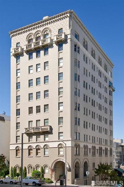 San Francisco Condo/Townhouse For Sale: 2100 Pacific Ave #PH