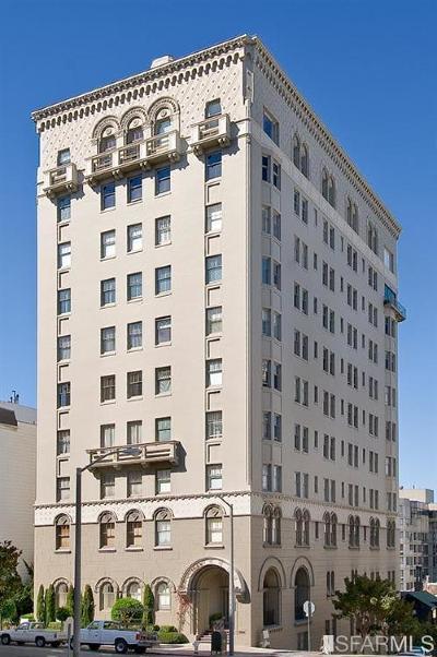 San Francisco, Pacifica, Redwood City, San Bruno, San Carlos, South San Francisco Condo/Townhouse For Sale: 2100 Pacific Ave #PH