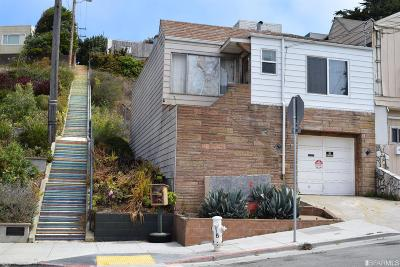 San Francisco Single Family Home For Sale: 801 Avalon Ave