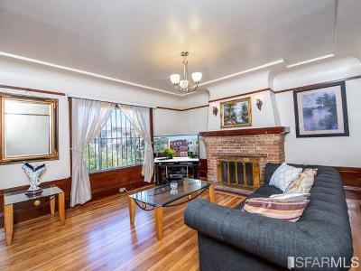 San Francisco Single Family Home For Sale: 641 San Jose Ave