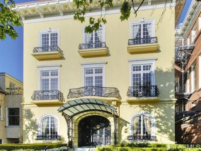 San Francisco Single Family Home For Sale: 2820 Scott St