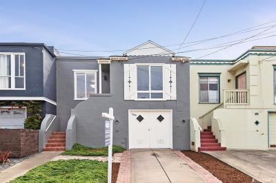San Francisco Single Family Home For Sale: 1666 47th Ave
