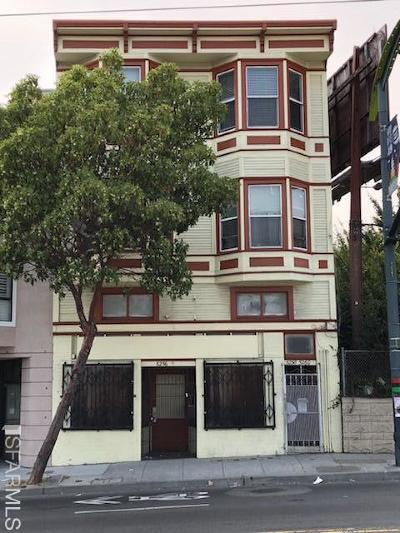San Francisco Multi Family Home For Sale: 5256 3rd St