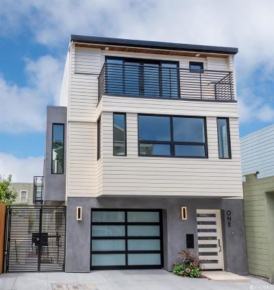 San Francisco Single Family Home For Sale: 1 McCormick St
