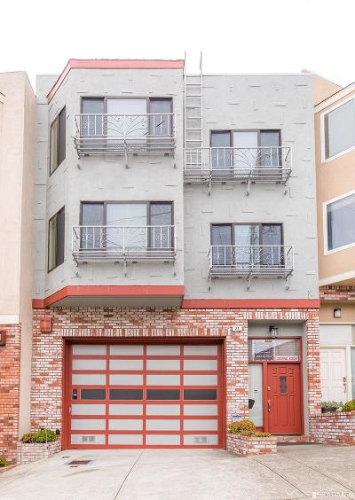 San Francisco Single Family Home Act Cont Show: 27 Santa Barbara Ave