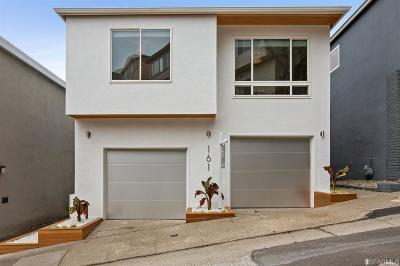 San Francisco Single Family Home For Sale: 161 Devonshire Way