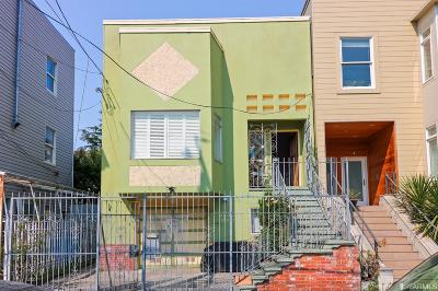 San Francisco Single Family Home For Sale: 1080 Hampshire St