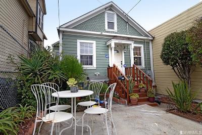 San Francisco Single Family Home For Sale: 3220 Jennings St