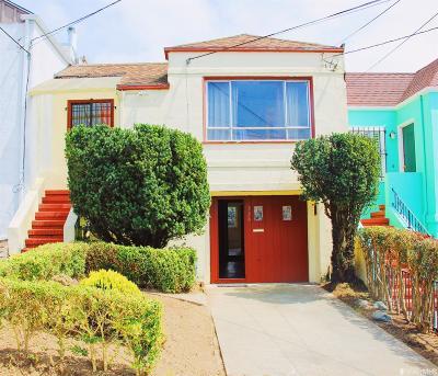 San Francisco Single Family Home For Sale: 338 Victoria