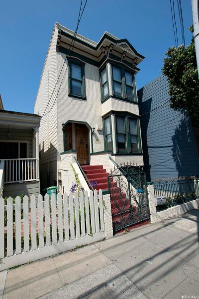 San Francisco Multi Family Home For Sale: 2526 Post St