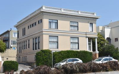 San Francisco Multi Family Home For Sale: 1476 1478 19th Ave