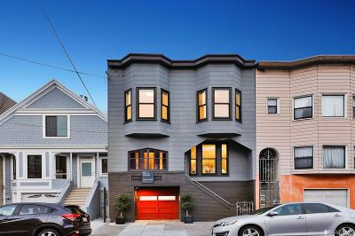 San Francisco Single Family Home For Sale: 364 366 3rd Ave