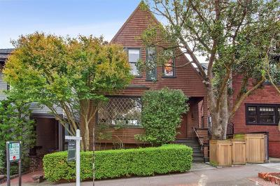 San Francisco Single Family Home For Sale: 206 Edgewood Ave