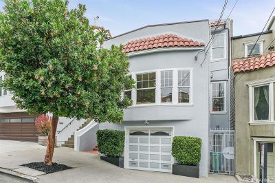 San Francisco Single Family Home For Sale: 4390 26th St