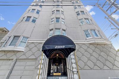 San Francisco Condo/Townhouse Act Cont Show: 2999 California St #33