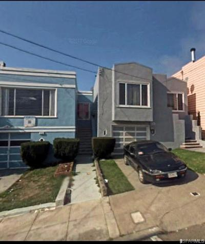 San Francisco Single Family Home For Sale: 379 Head St
