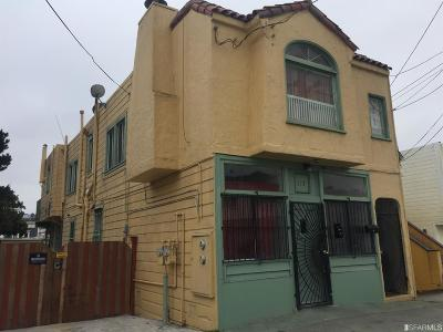 San Francisco Multi Family Home For Sale: 117 117 1/2 Farallones St