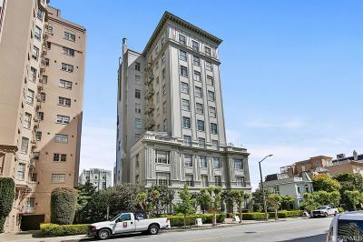 San Francisco Condo/Townhouse For Sale: 1940 Broadway #2E