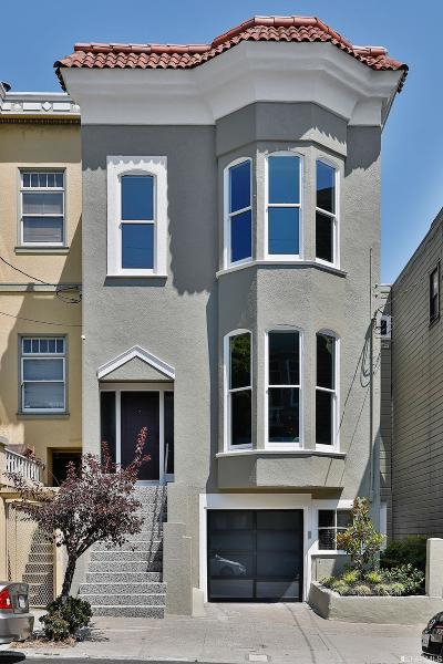 San Francisco Single Family Home For Sale: 1914 Webster St