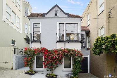 San Francisco Single Family Home For Sale: 3019 Broderick St