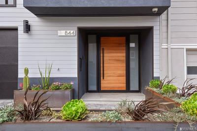 San Francisco Single Family Home For Sale: 844 Duncan St