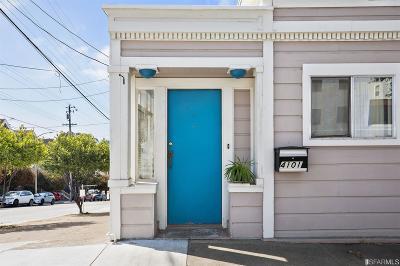 San Francisco Condo/Townhouse For Sale: 1102 Castro St