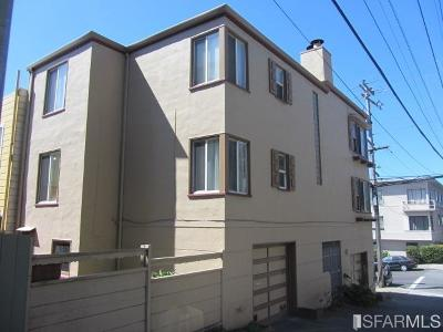 San Francisco Multi Family Home For Sale: 4245 4247 Clement St