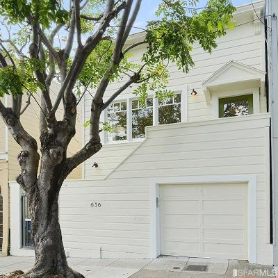 San Francisco Multi Family Home For Sale: 636 636 1/2 Andover St