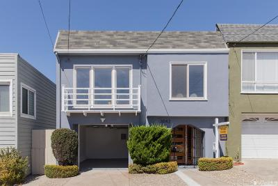 San Francisco Single Family Home For Sale: 3042 Noriega St