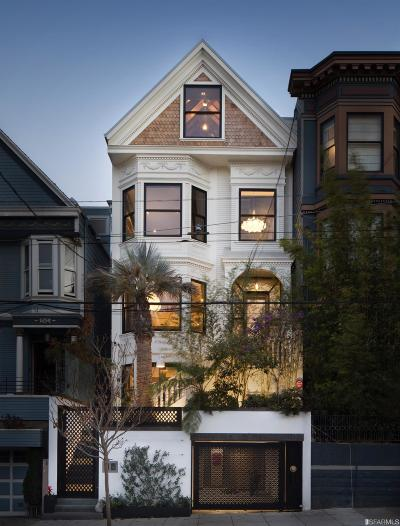 San Francisco CA Single Family Home For Sale: $9,400,000
