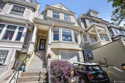 San Francisco Single Family Home For Sale: 848 Clayton St