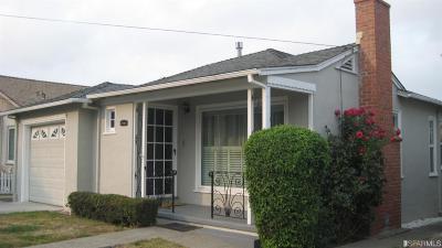 San Bruno Single Family Home For Sale: 532 Hazel Ave