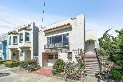 San Francisco CA Single Family Home For Sale: $798,000