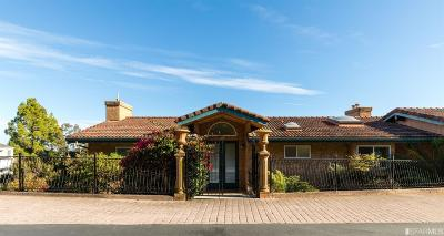 Marin County Single Family Home For Sale: 45 Skyline Ter