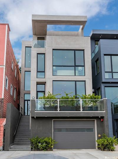 San Francisco Condo/Townhouse For Sale: 1169 Stanyan St