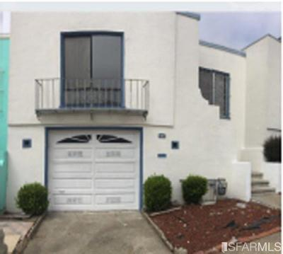 San Francisco Single Family Home For Sale: 628 Sweeny