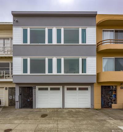 San Francisco Multi Family Home For Sale: 2121 Judah St