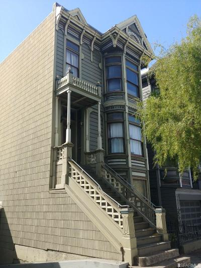 San Francisco Multi Family Home For Sale: 2127 2131.5 Pine St